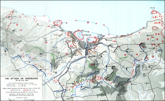 attack-on-cherbourg-map